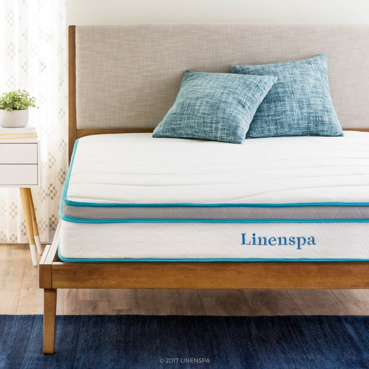 LinenSpa 8 Inch Innerspring Mattress Review