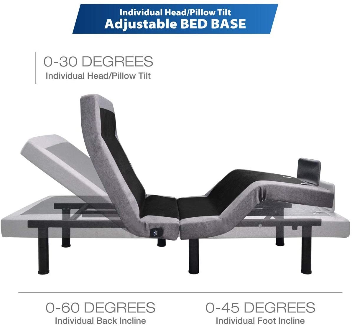 MAXXPRIME Adjustable Bed Reviews - Adjustments
