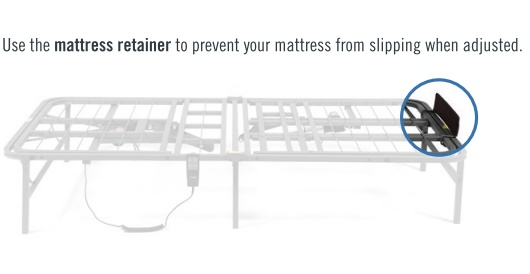 Mattress Retainer Bars Pragma Bed Pragmatic Adjustable Bed Frame