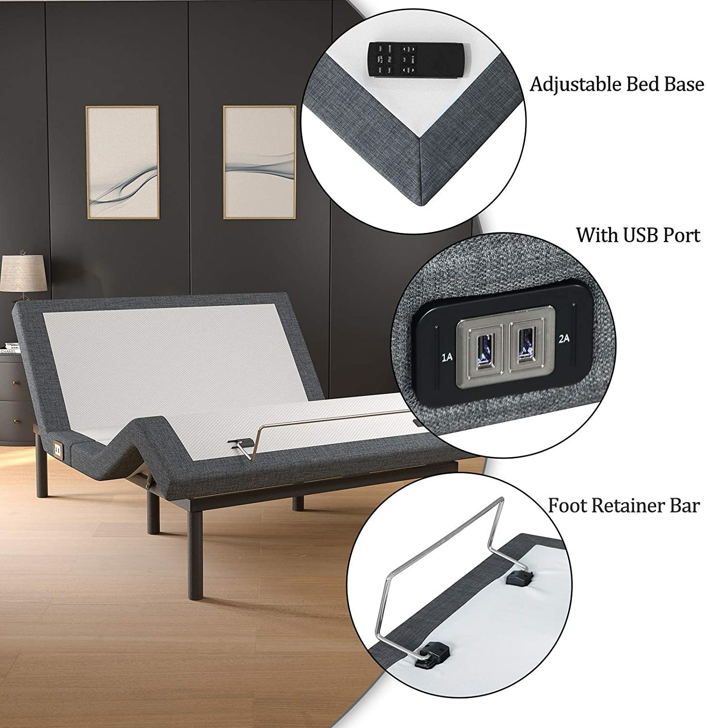 Mecor Adjustable Bed Frame Review - Important Features