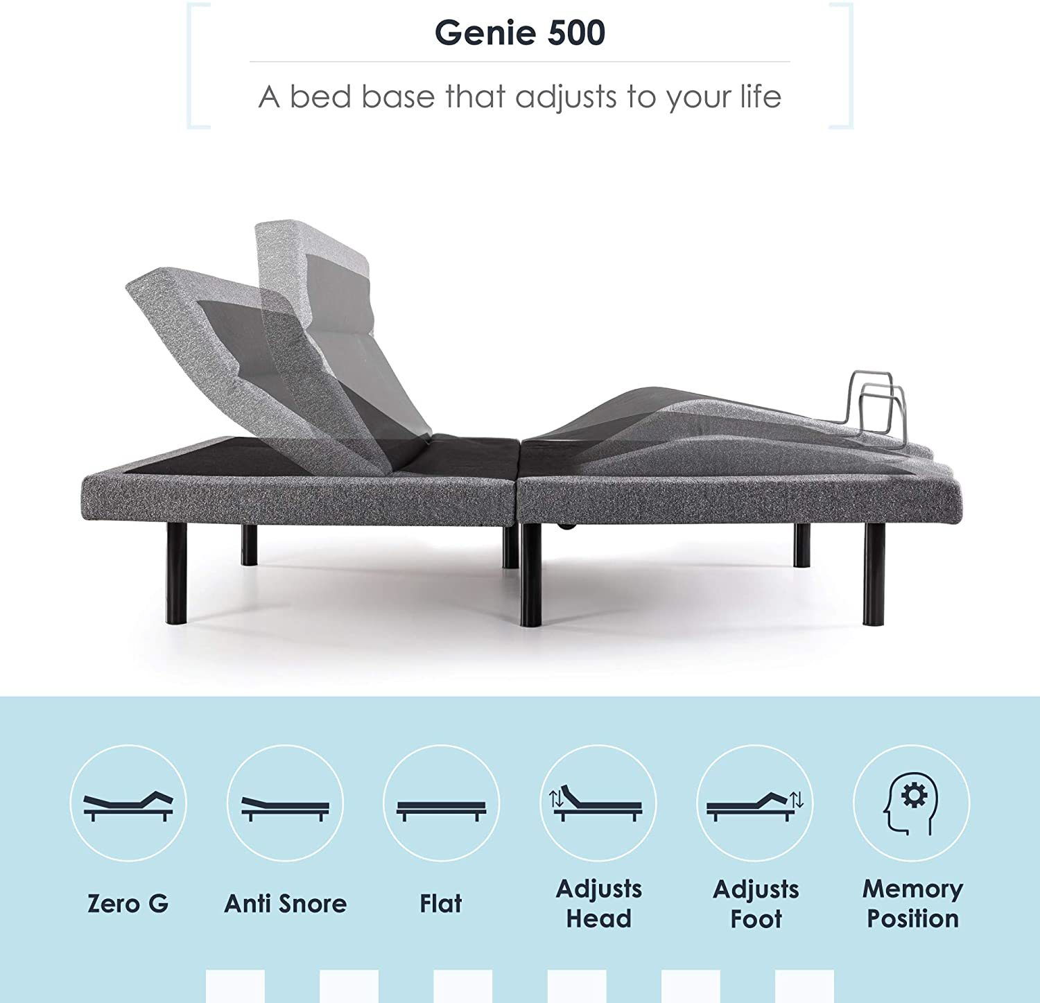 Mellow Genie 500 - Best Adjustable Beds for Back Pain