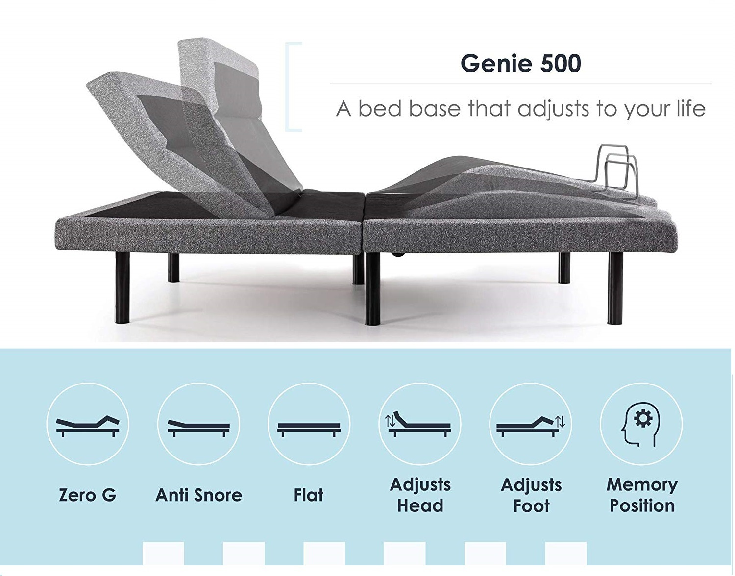 Mellow Genie Adjustable Bed Reviews - Adjustments