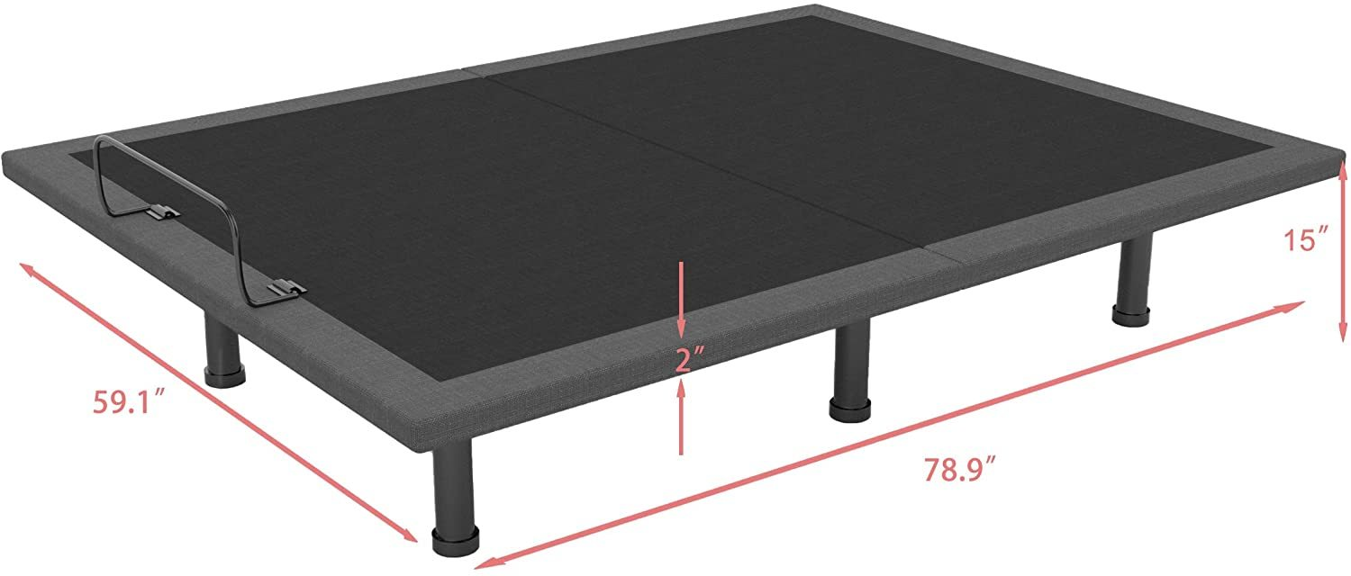 Milemont Adjustable Bed Reviews - Dimensions