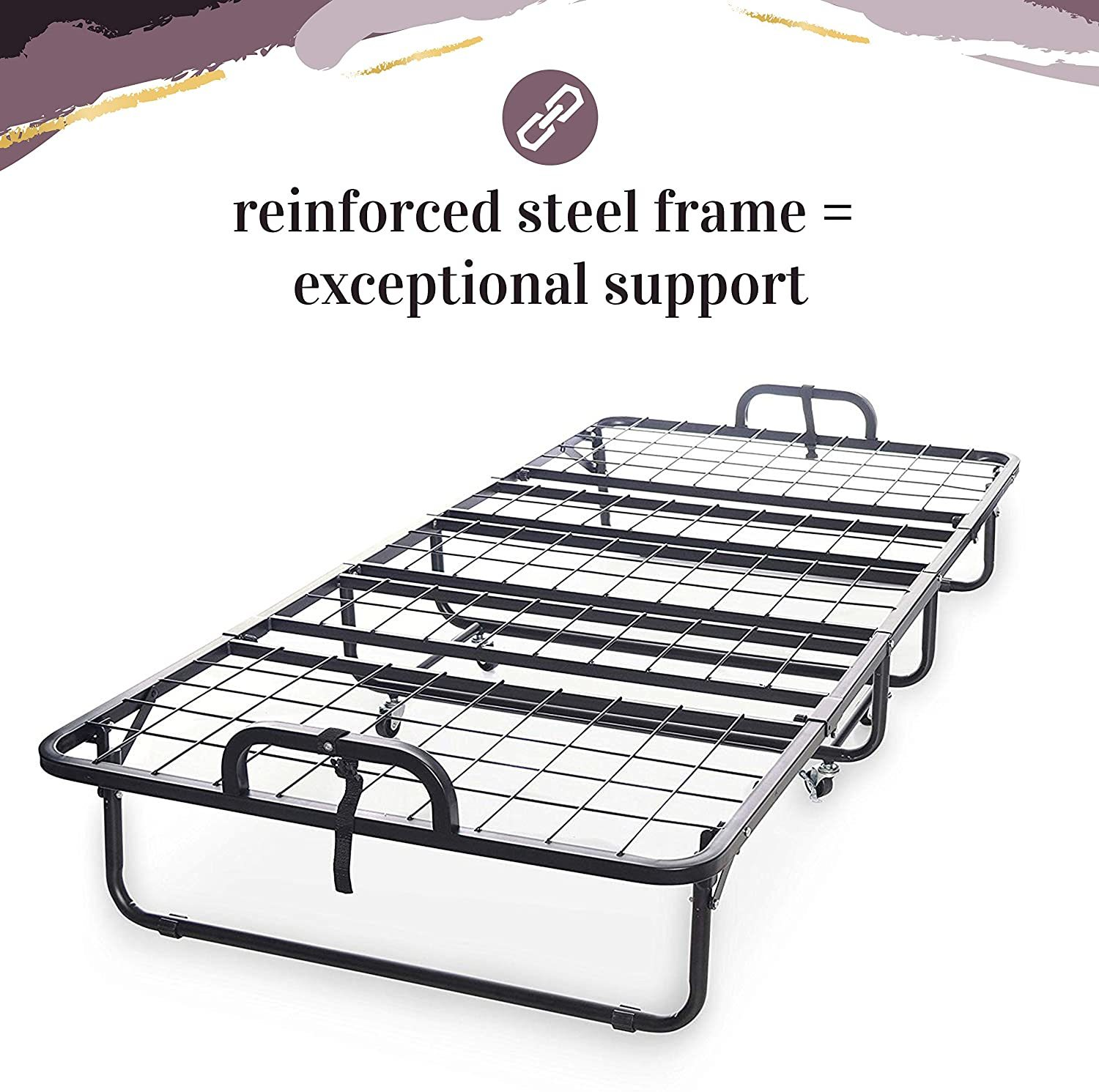 Milliard Diplomat Folding Bed - Construction