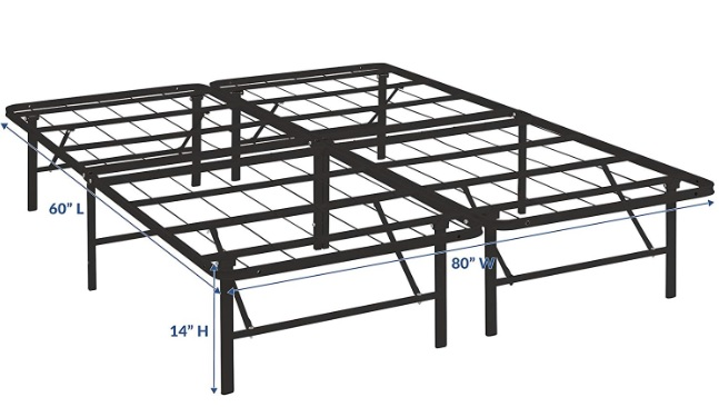 Modway Horizon Bed Frame Review - Horizontal & Vertical Slats