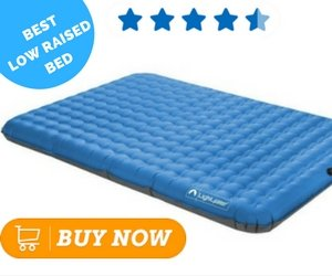 Most Comfortable Air Mattress Lightspeed Outdoors 2-Person PVC-Free Air Bed with Battery Operated Pump