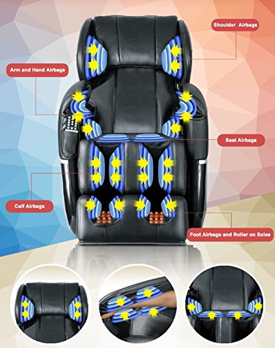 Mr Direct Electric Full Body Shiatsu Massage Chair Review Airbags Massage