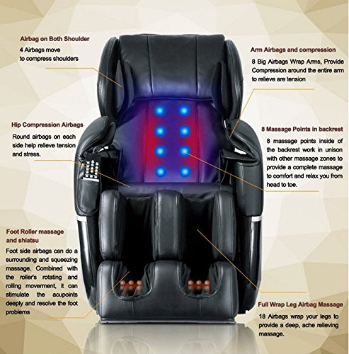 Mr Direct Electric Full Body Shiatsu Massage Chair Review Full Body Massage