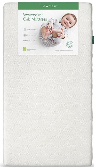Newton Crib Mattress & Toddler Mattress 100% Breathable Washable Recyclable made with Wovenaire
