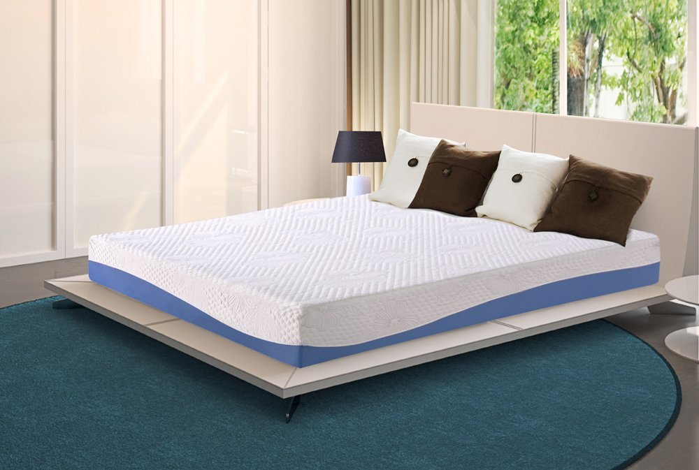 Olee Sleep 10 Inch Gel Memory Foam Mattress