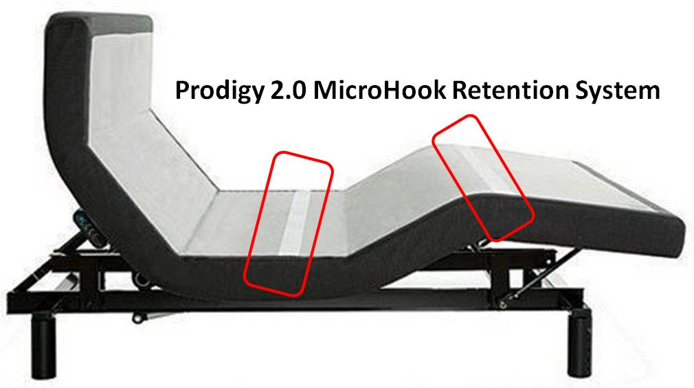 Prodigy 2.0 MicroHook Mattress Retention System