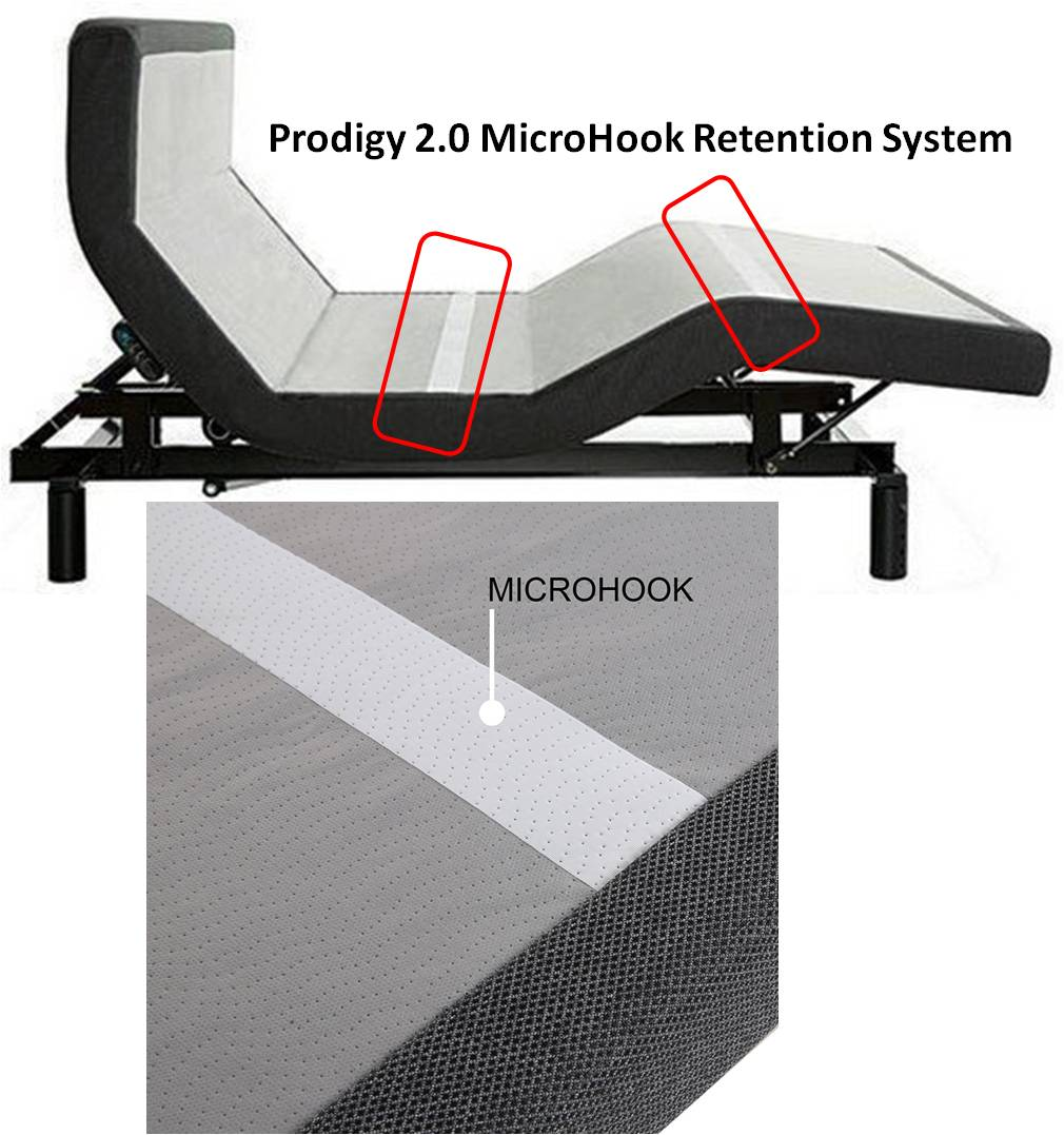 Prodigy 2.0 MicroHook Mattress Retention