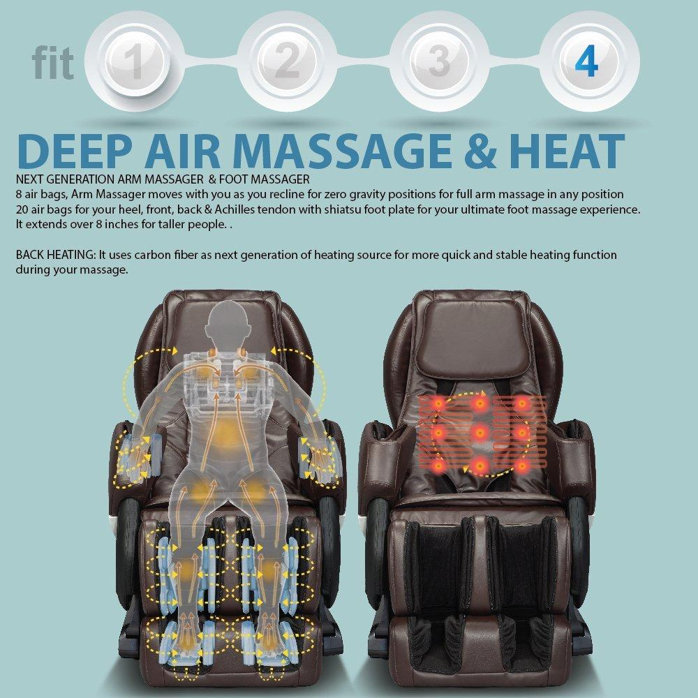 RELAXONCHAIR MK-IV Massage Chair Review - Deep Air Massage & Heat Therapy