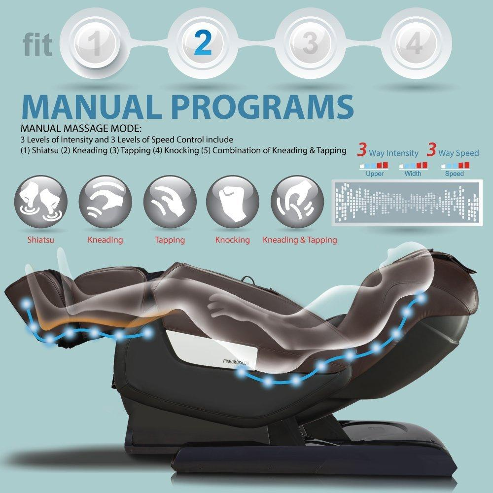 RELAXONCHAIR MK-IV Massage Chair Review - Massage Techniques