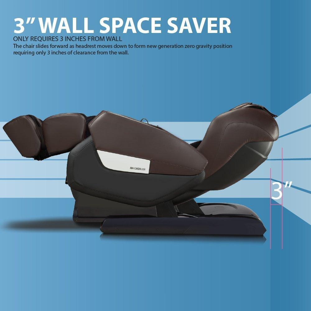 RELAXONCHAIR MK-IV Massage Chair Review - Space Saving Design