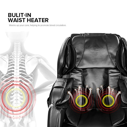 Real Relax Massage Chair Review Heat Therapy