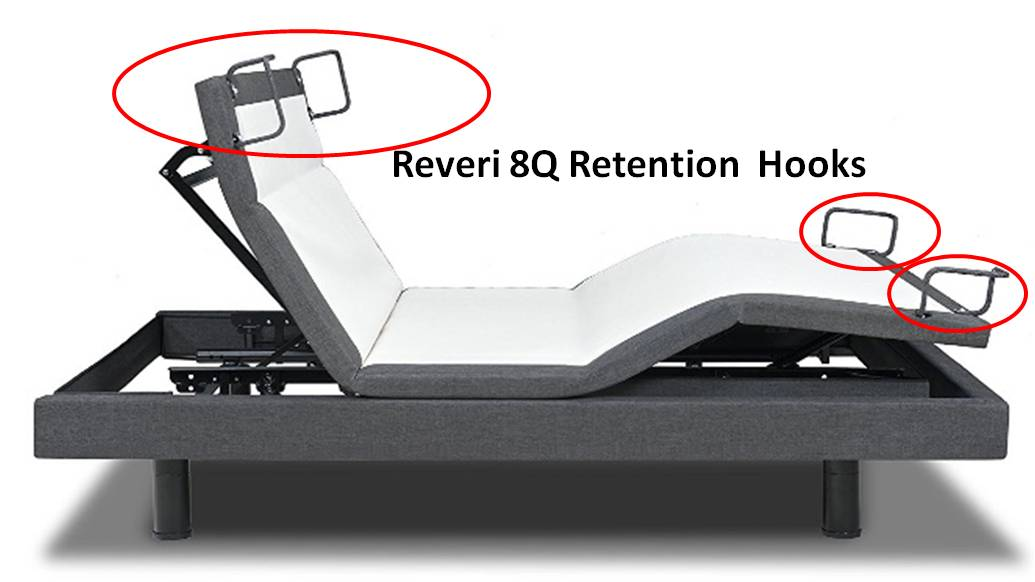 Reverie 8Q Mattress Retainer Bars