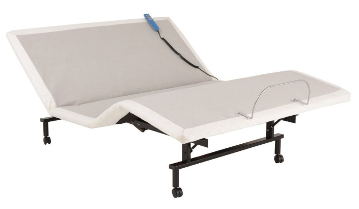 ShipShape Adjustable Bed Base with Ultra-Quiet Motor and Wired Remote