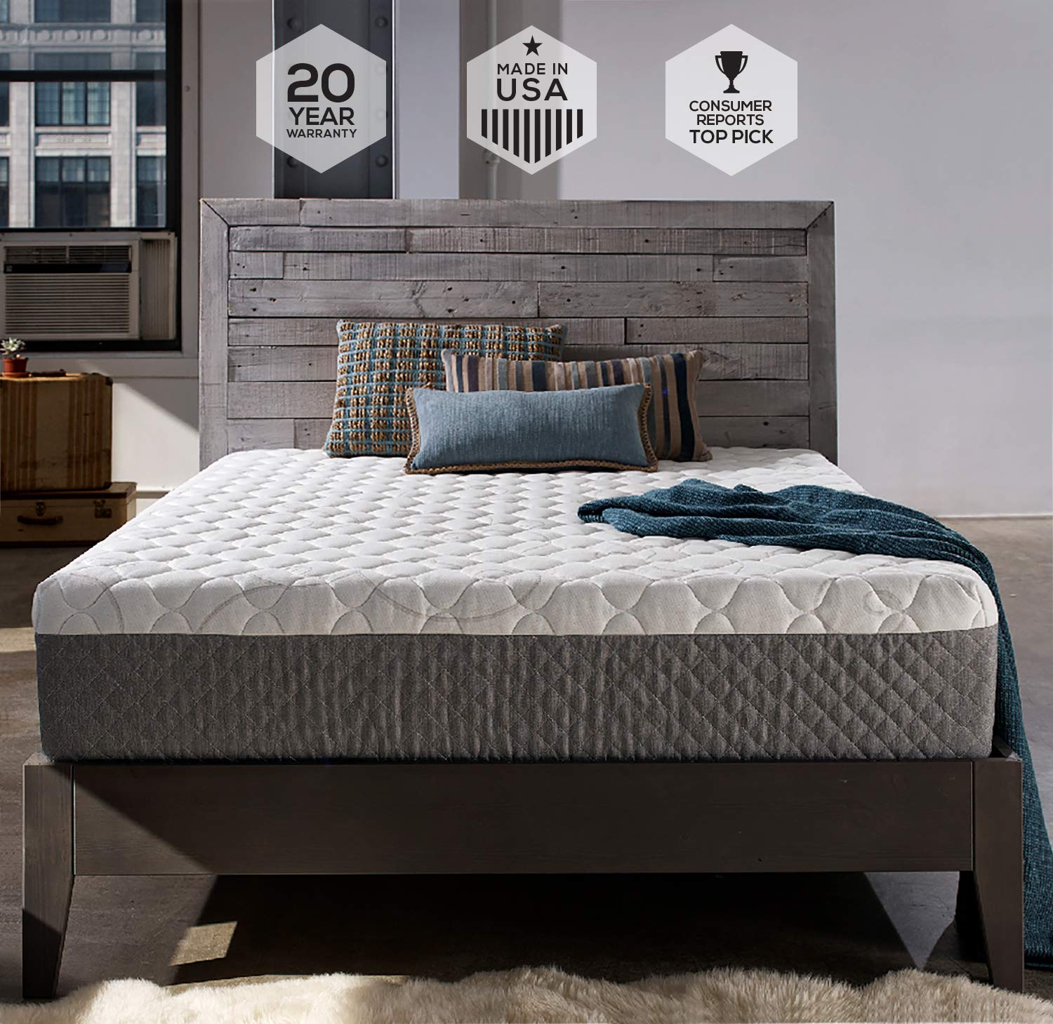 Sleep Innovations Taylor Mattress Review - Warranty