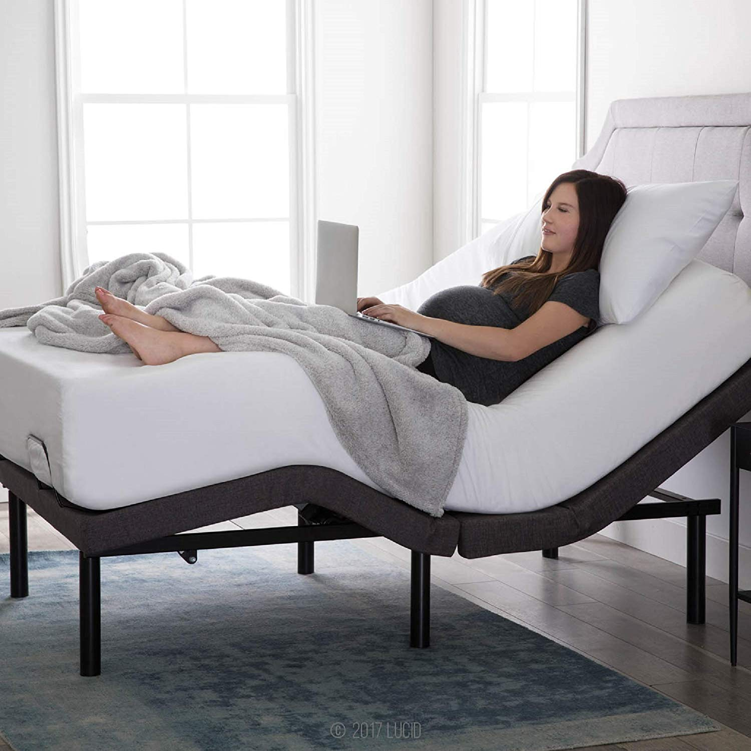Split King Adjustable Beds Reviews - Lucid L300