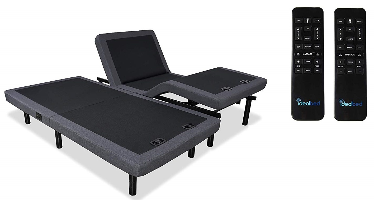 Split King Adjustable Beds Reviews - iDealBed 4i Custom Adjustable Bed