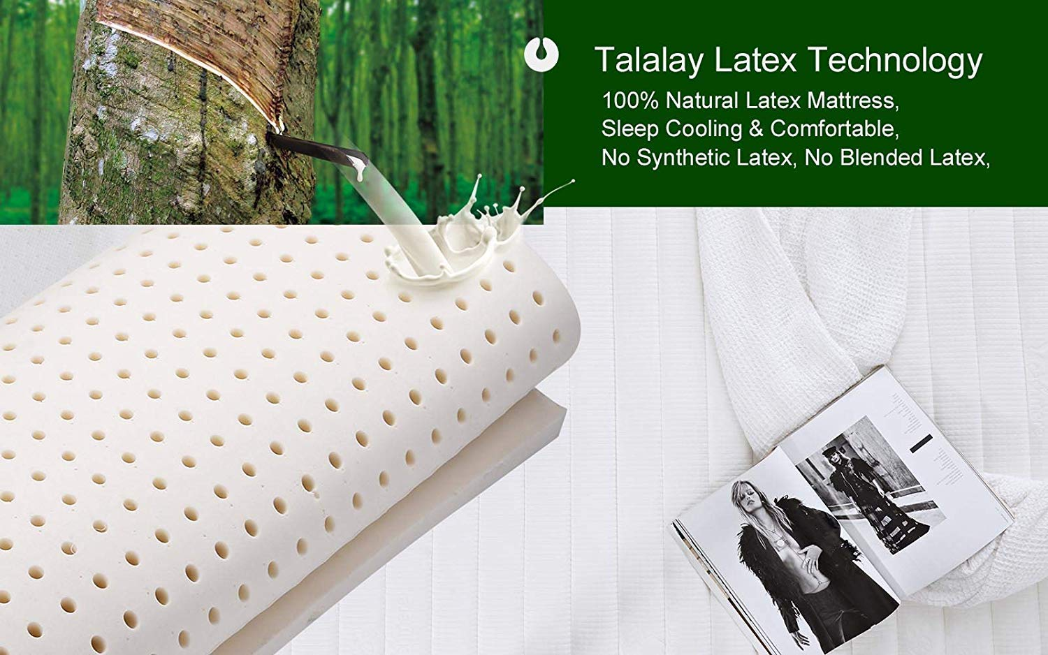 Sunrising Bedding Mattress Review - Tataley Latex Technology Layer