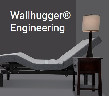 Wall Hugger Feature Leggett & Platt Prodigy 2.0 Split Adjustable Bed