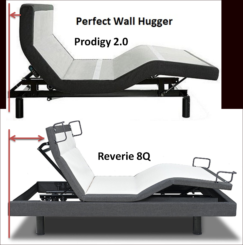 Wall Hugger Adjustable Beds And Pillow Tilting Adjustable