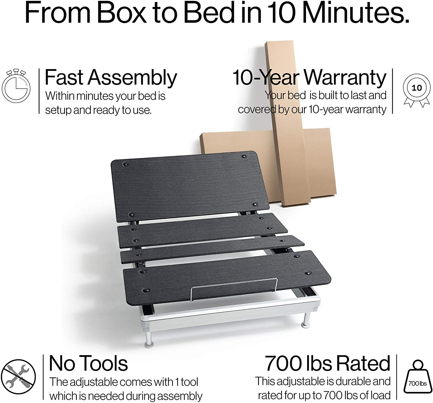Yaasa Luxe Adjustable Bed Reviews - Important features