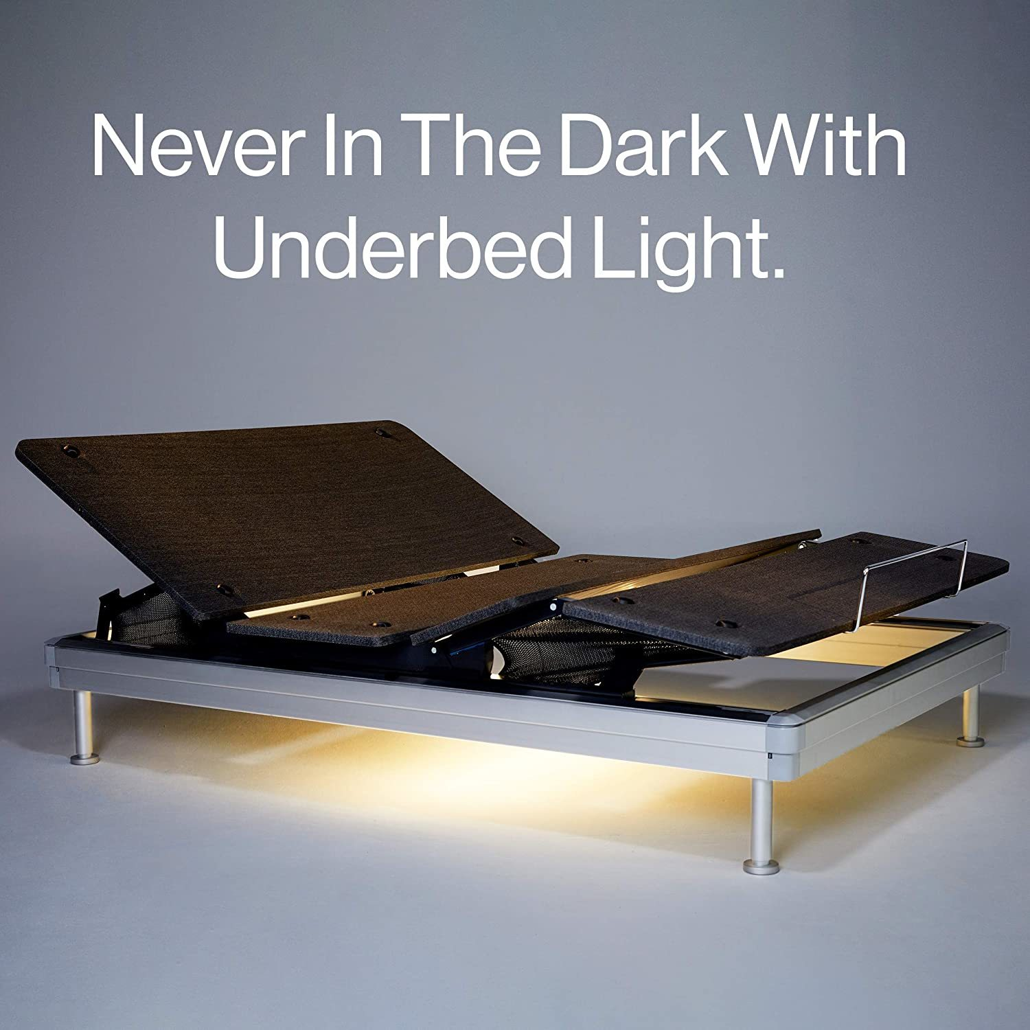 Yaasa Luxe Adjustable Bed Reviews - Under-bed-lighting