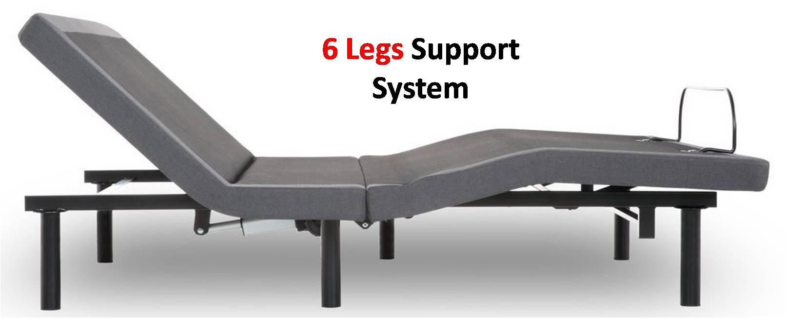 iDealBed 4i Custom Adjustable Bed Base Review - 6 Leg Support System