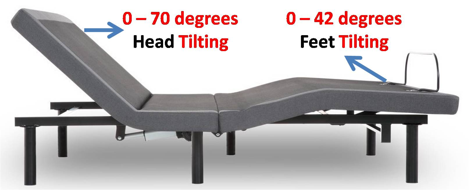 iDealBed 4i Custom Adjustable Bed Base Review - Head & Foot Tilts